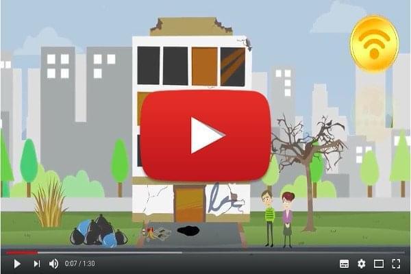 Cartoon 2D Example - Presentazione animata home