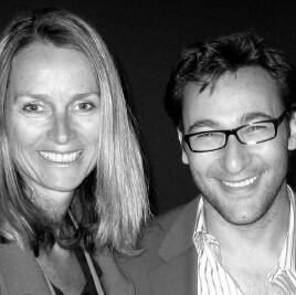 Naomi Simson and Simon Sinek