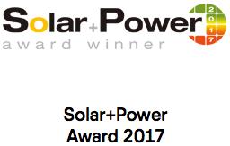 Solar Power Award
