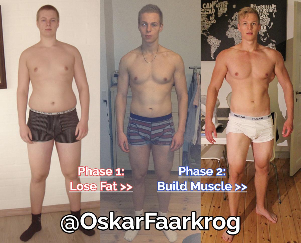 skinny-fat transformation