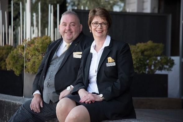 Scott Rennie and Diane Luccitti