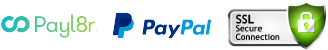 Pay Securely with Payl8r or PayPal