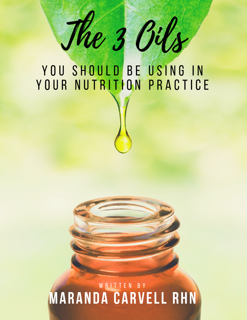 Essential Oils For Nutritionists
