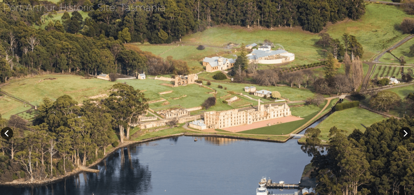 Port Arthur Villas - World heritage site