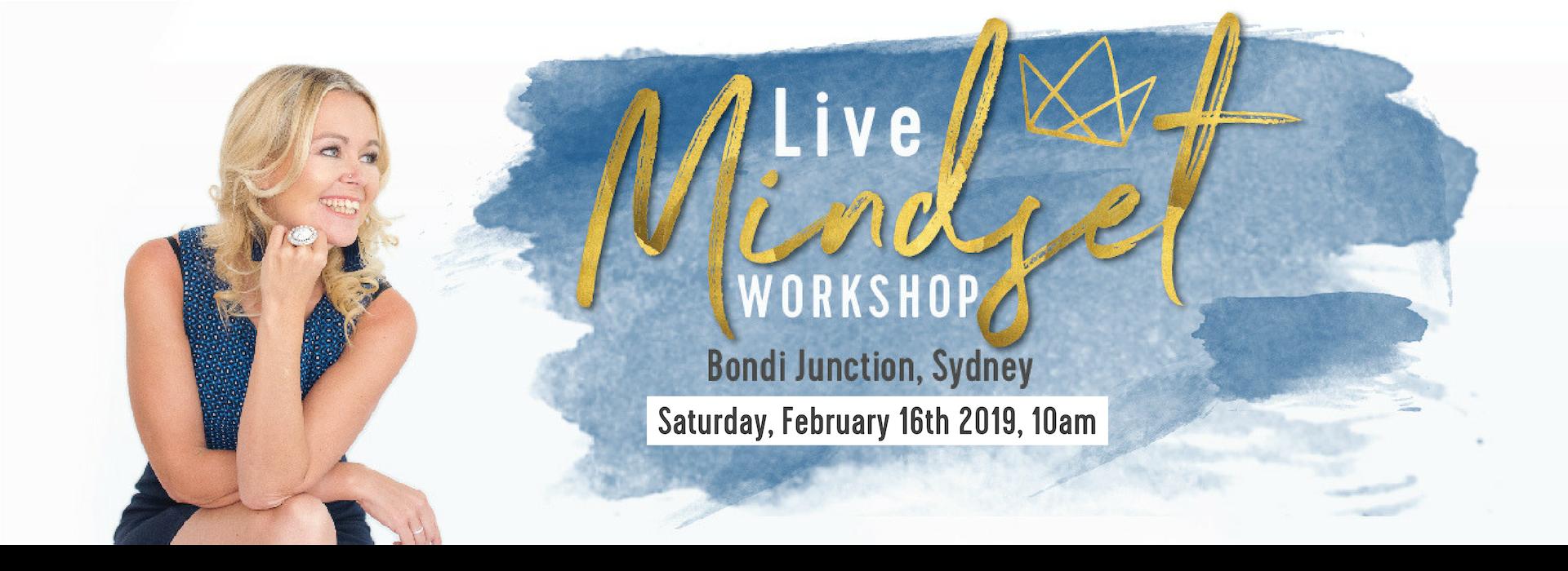 Live Mindset Workshop Sydney Susi Kaeufer