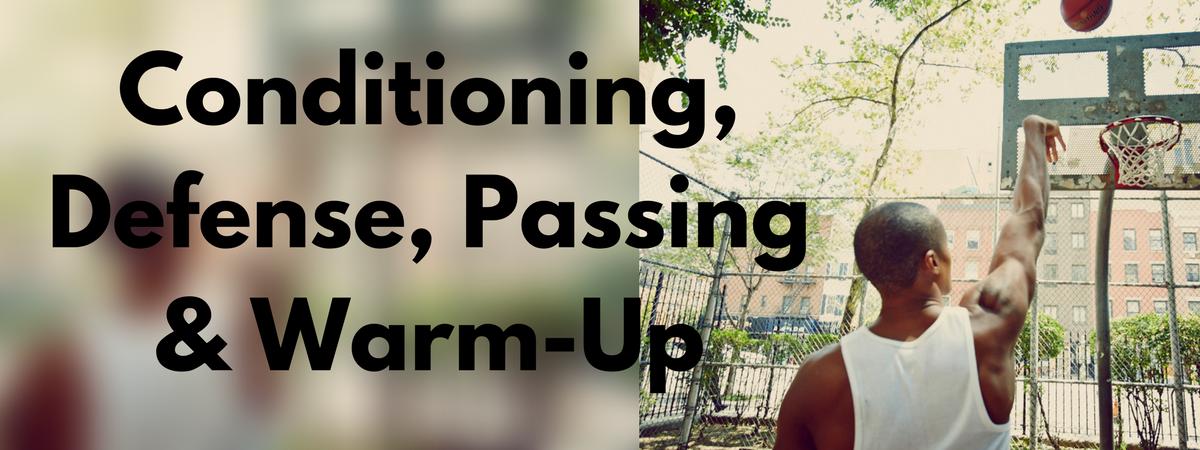 Conditioning Passing Defense & Warm-Up HoopHandbook