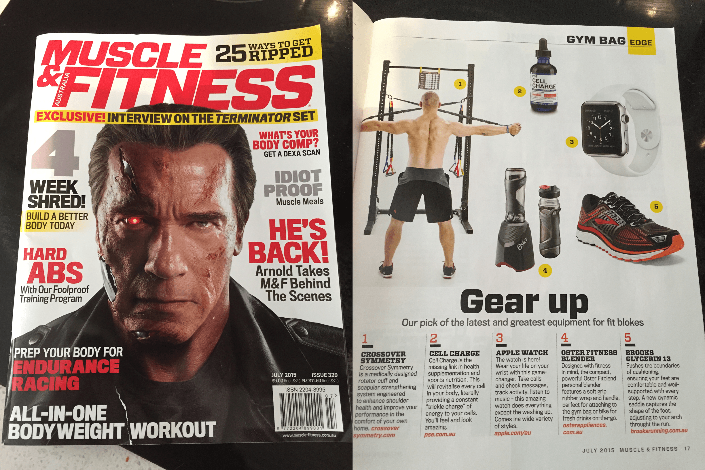 As seen in Muscle & Fitness magazine