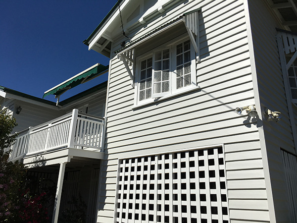 Cost to paint a weatherboard house