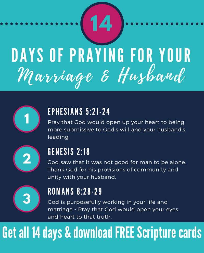 14 Days of Praying for your Marriage and Husband