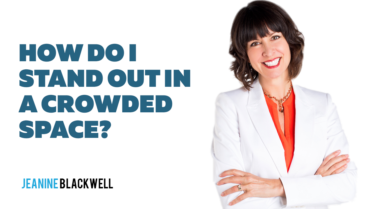 Expert Called You Show Episode 2 How do I stand out in a crowded space