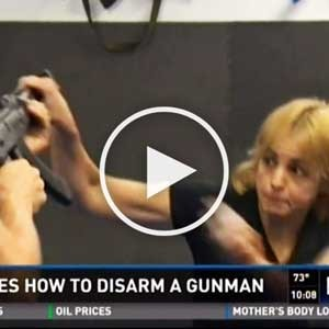 Texas Krav Maga Katy on KHOU Channel 11 News for Active Shooter Seminar