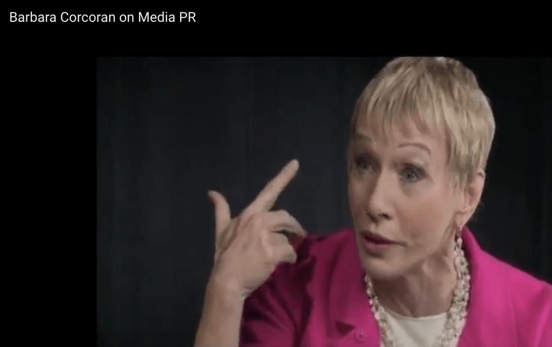 Barbara Corcoran on Media PR
