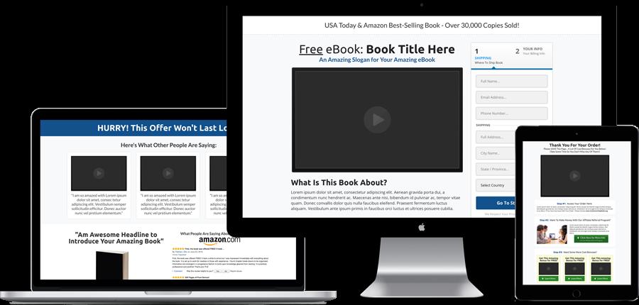 ClickFunnels Share Funnels - Best Selling Book Funnel