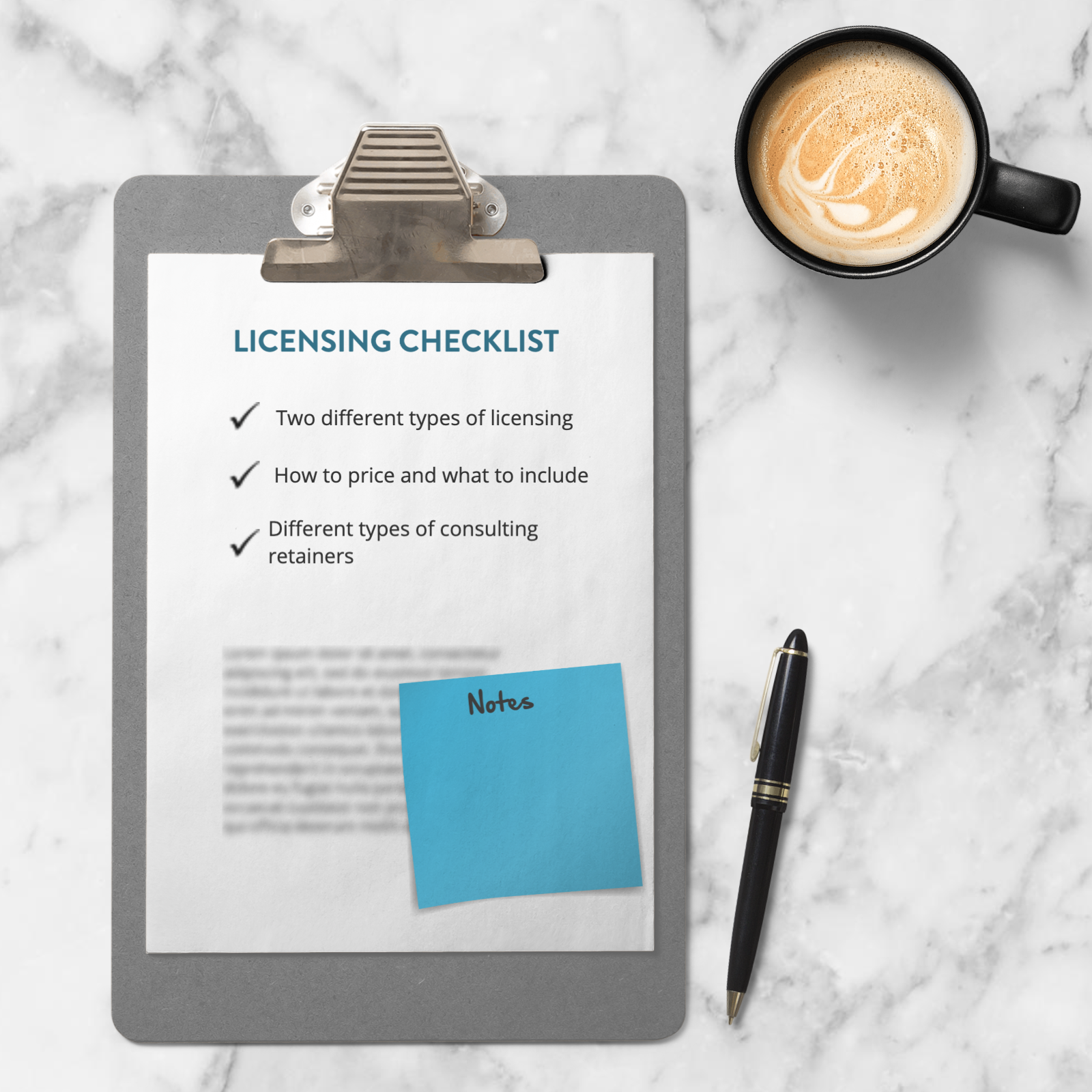 Licensing Checklist