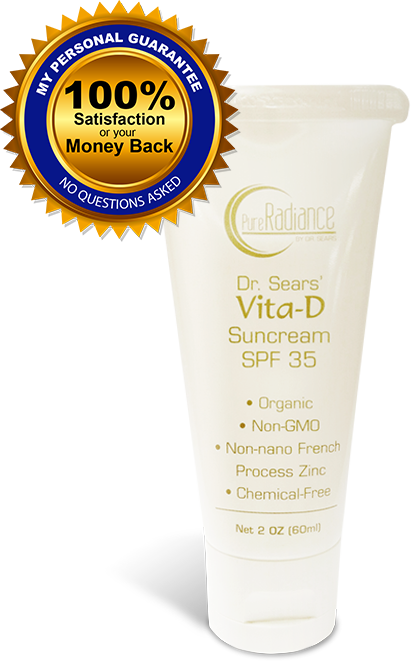 Dr. Sears Pure Radiance Vita-D Suncream GPF35