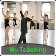 My teaching ballet with white border