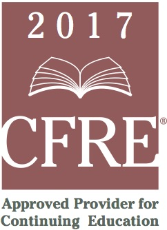 CFRE Approved Provider for Continuing Education
