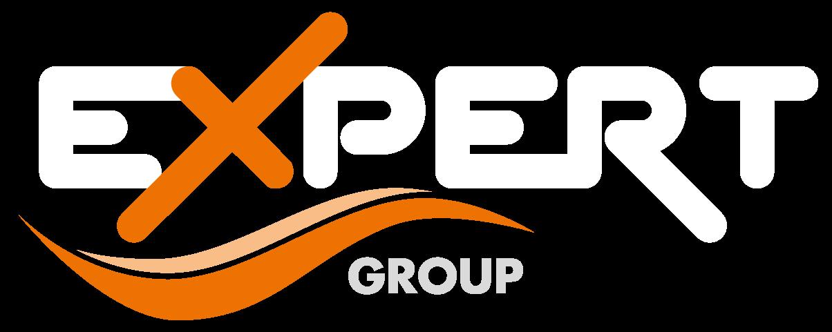 Logo expert group bianco