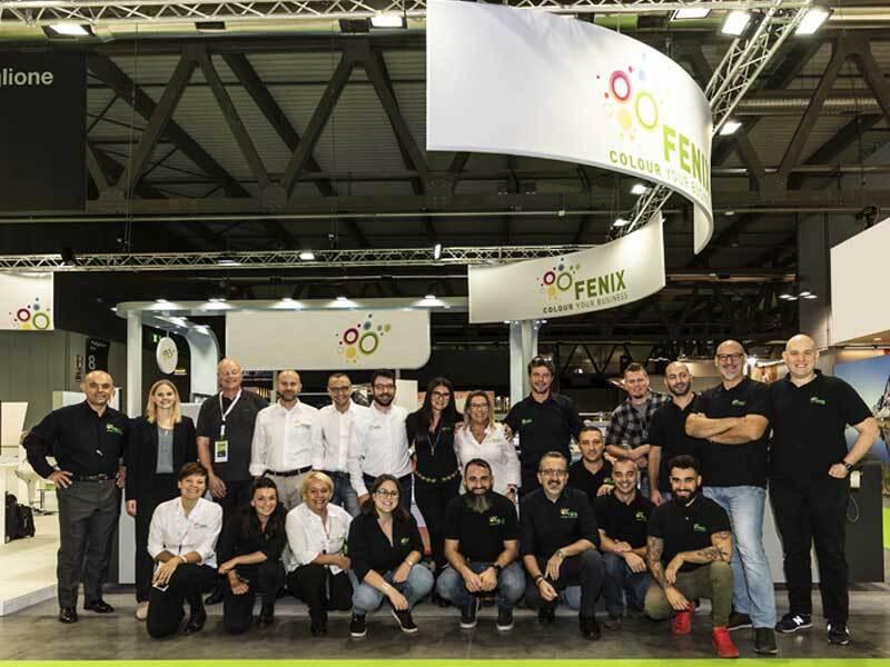 Il Team del Partner Tecnologico Fenix Digital Group a Viscom Italia 2019