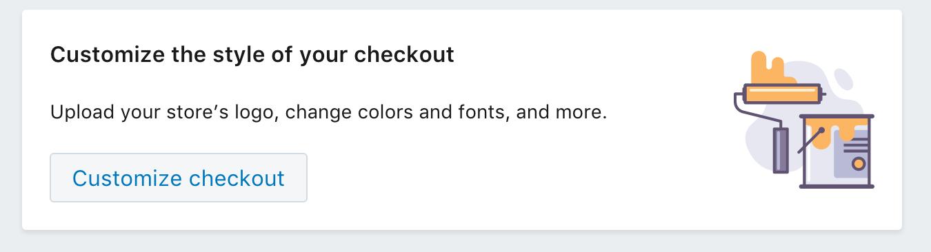 shopify checkout customize