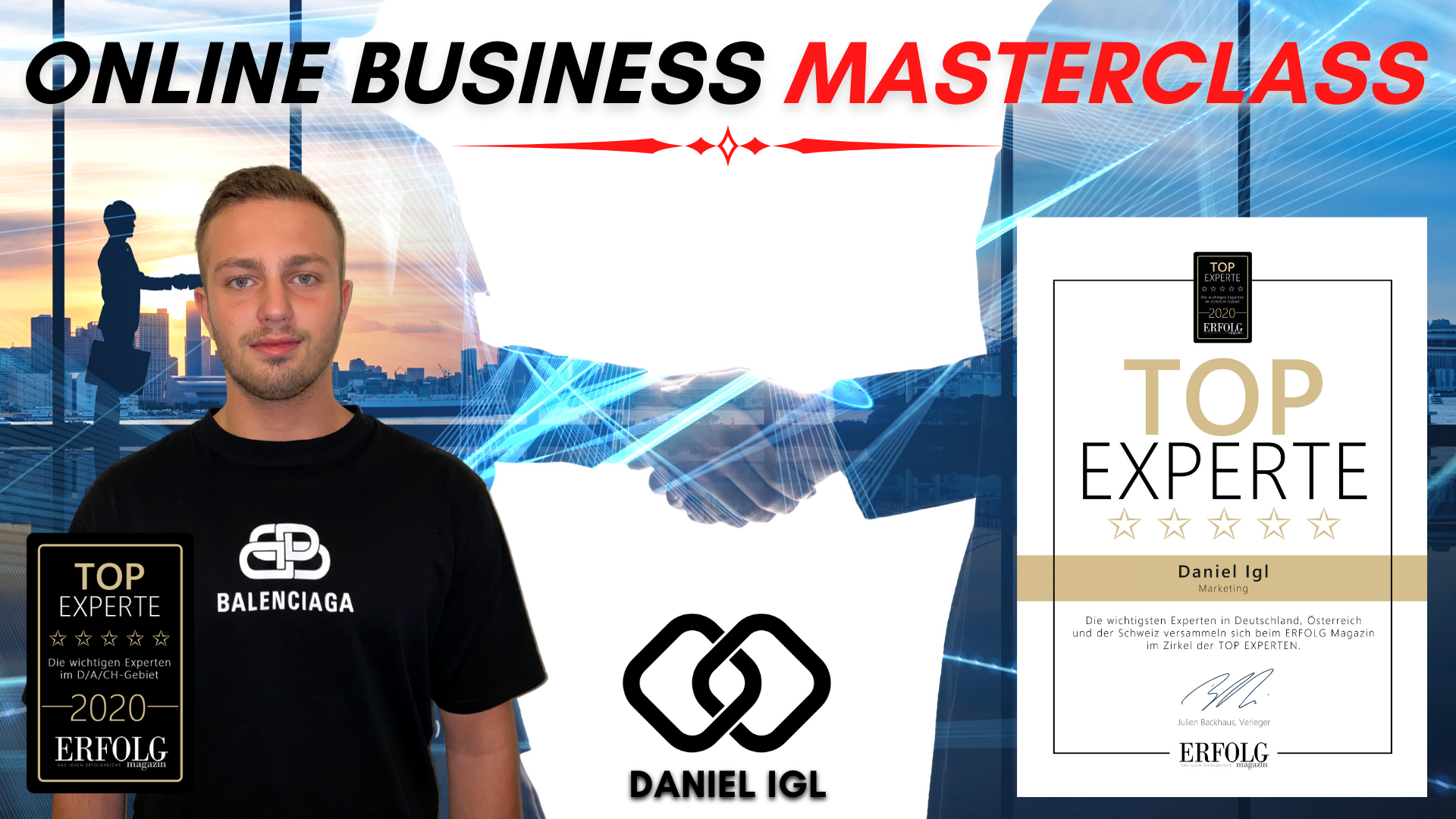 Daniel Igl und Alexander Hellwig Online Business Masterclass Coaching Website
