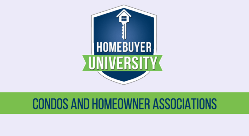Information about CONDOS AND HOMEOWNER ASSOCIATIONS