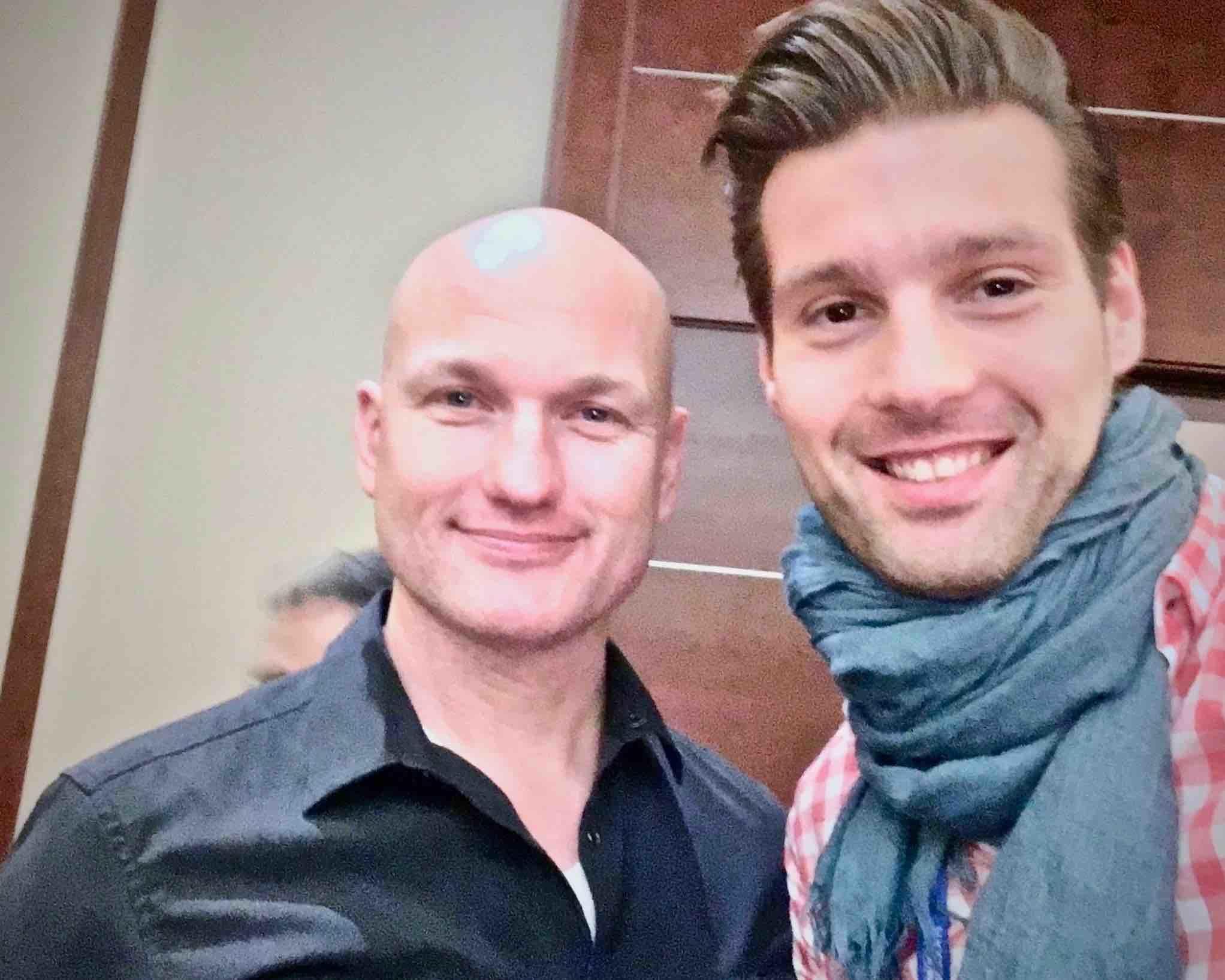 Daniel Fendt und Zoltan Hrotko
