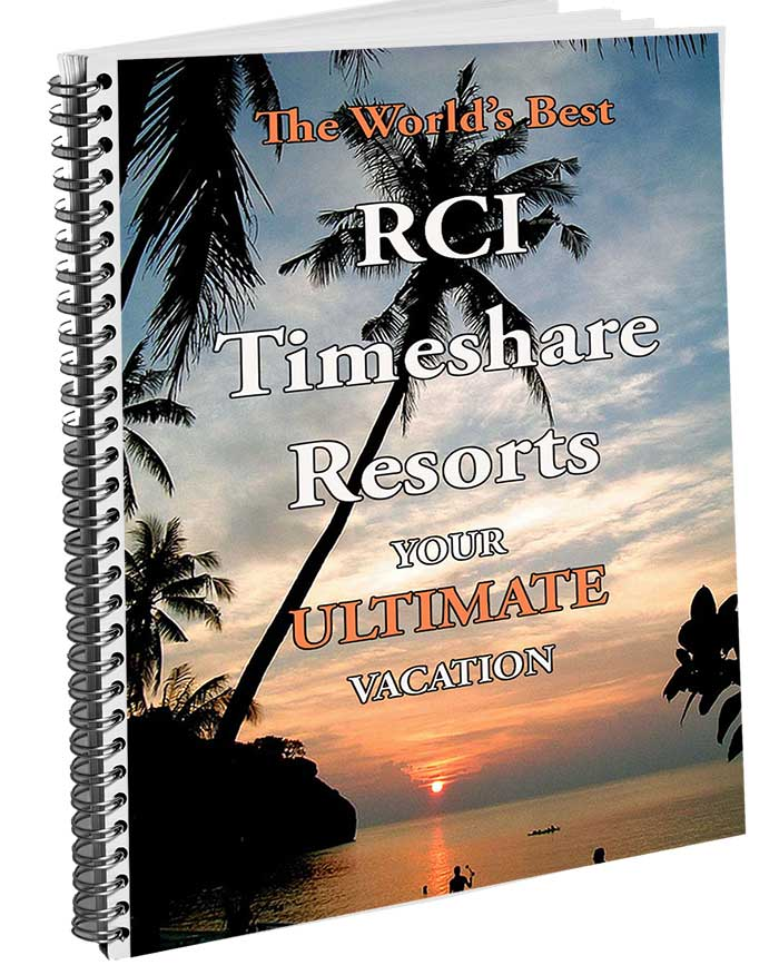 rci, world's best resorts, timeshare exchange bible