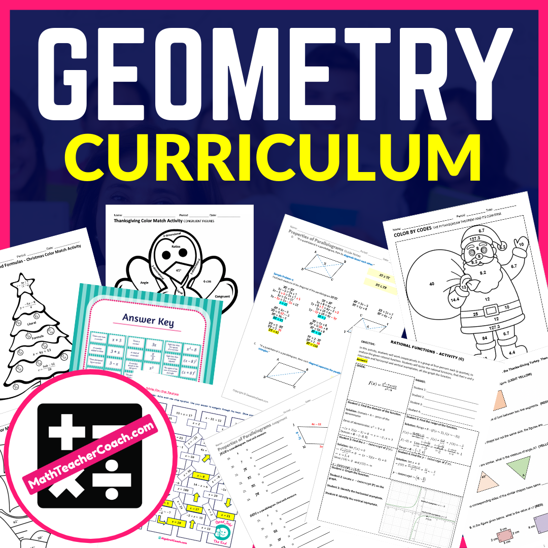 Geometry Lesson Plans, Geometry Worksheets