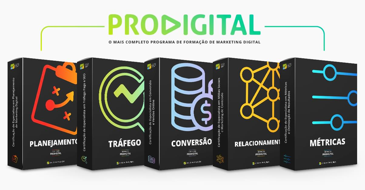PRODIGITAL - Programa de Certificação em Marketing Digital