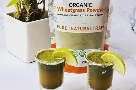 Wheatgrass Detox Shots