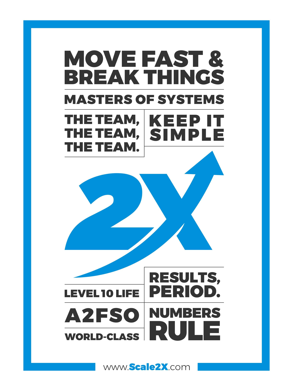 2X Core Values