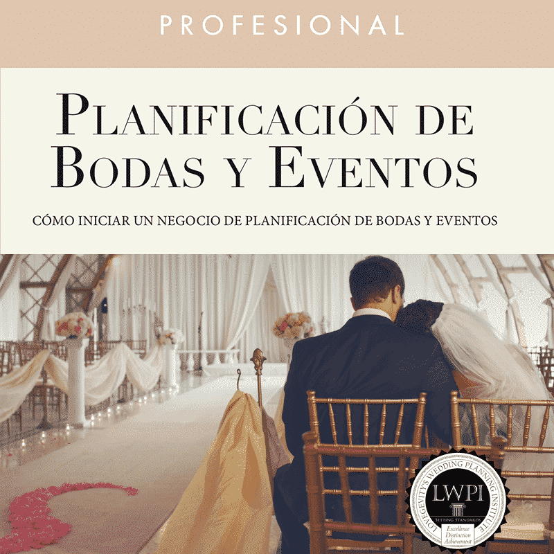 Spanish Certified Wedding & Event Planning Course