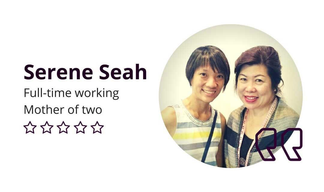 Serene Seah D'Elegance Testimonial: No More Spillage Of Tummy Fats