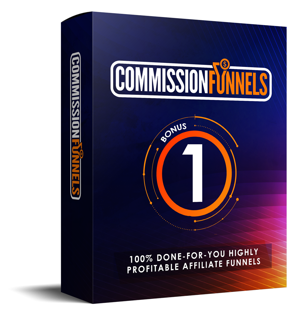 COMMISSION FUNNELS REVIEW: Massive Bonus+Discount+OTO+Demo 7