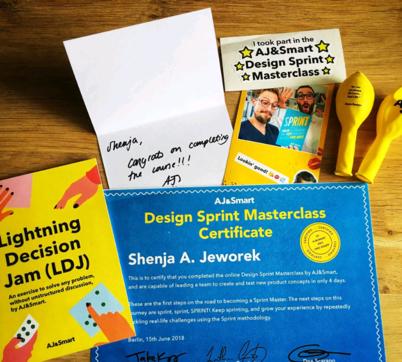 Design Sprint Masterclass certification