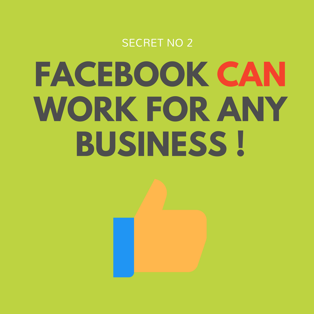 Can Facebook work for my business?