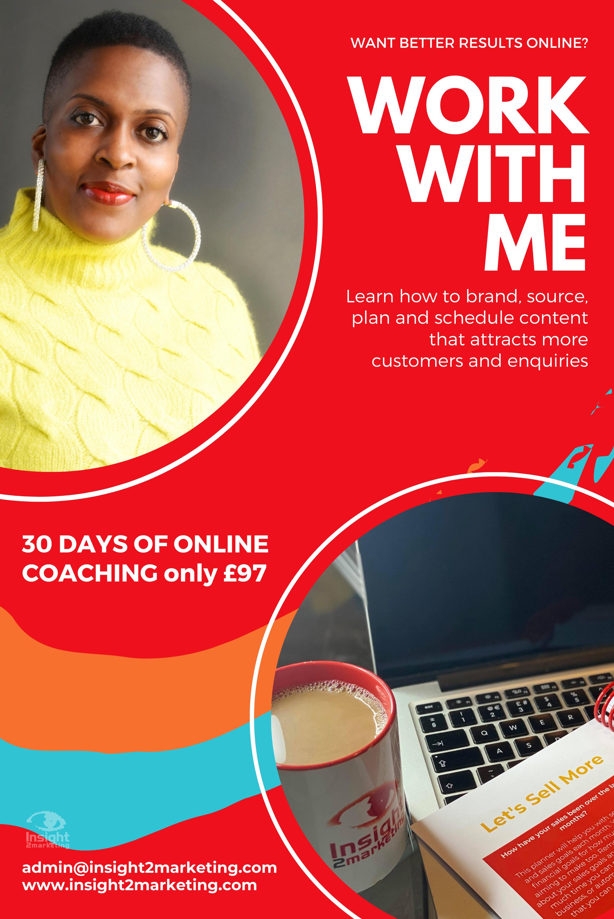 30 day business coaching, aski2m, insight2marketing, 2021 startups