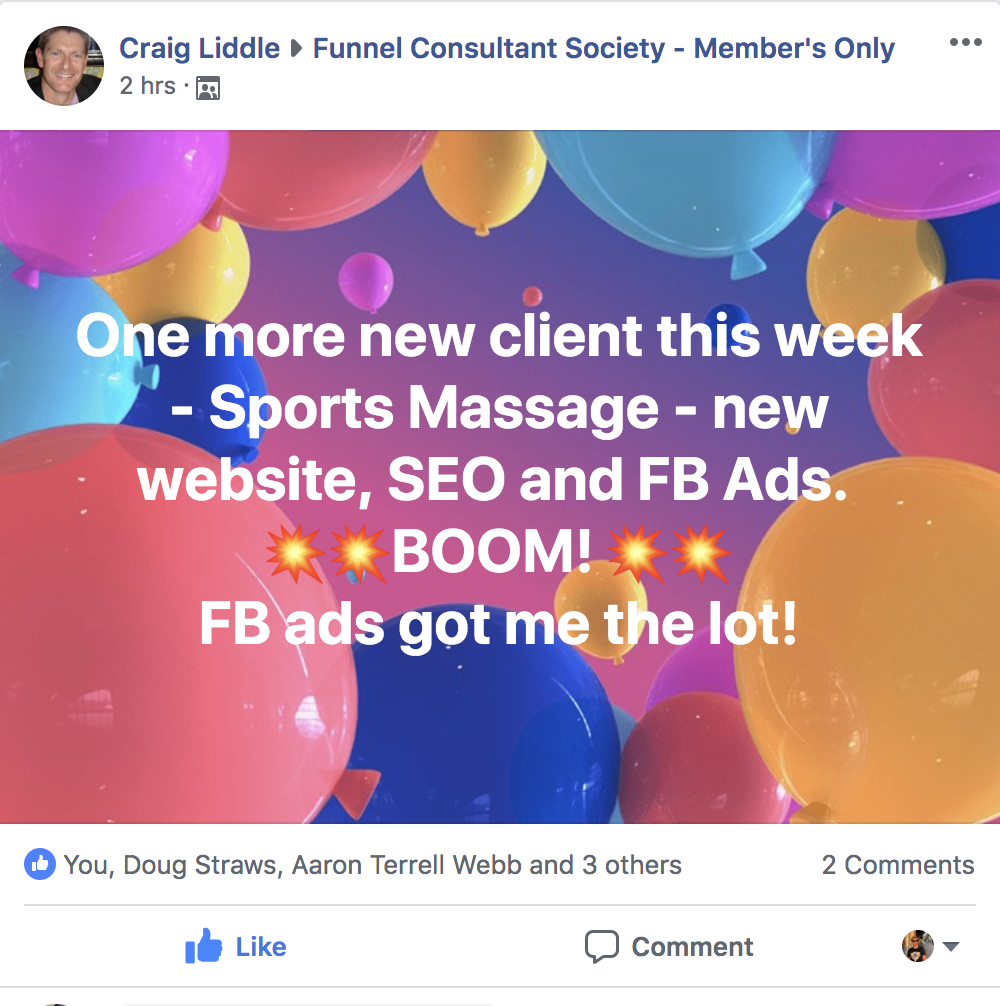 Funnel Consultant Society
