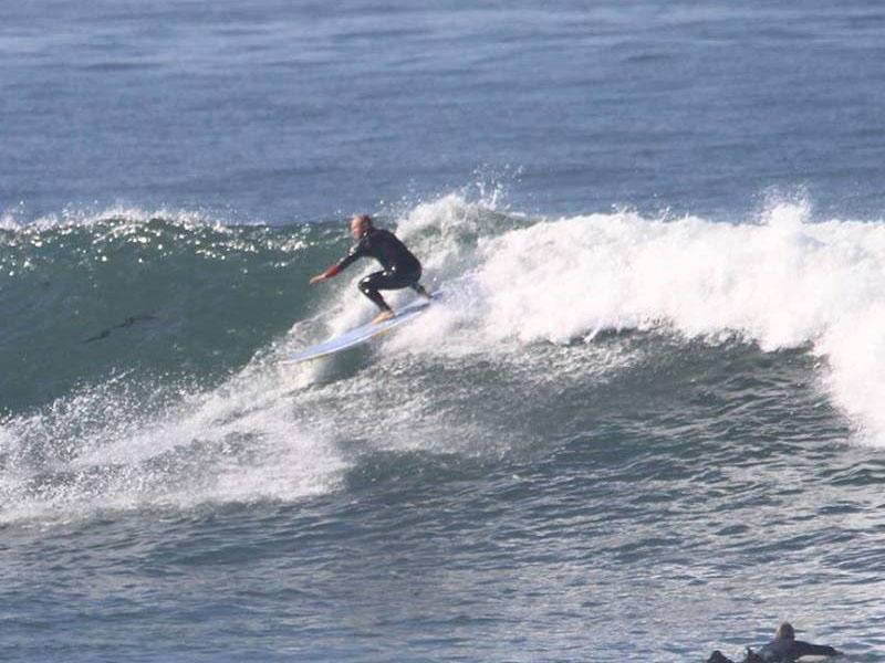 ocean surfing