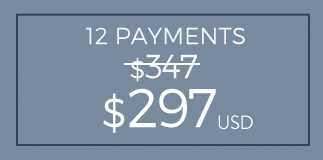 12 Payments $297 - Payment Plan