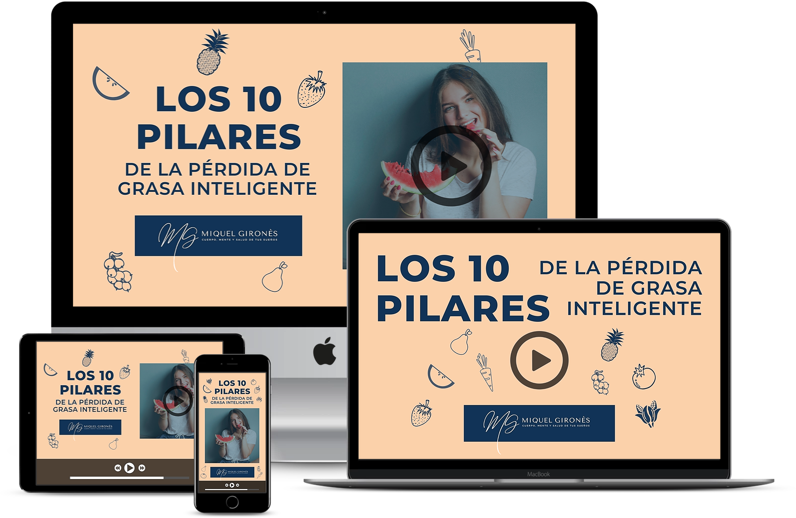 mujer, fitness, fuerza, nutricion, saludable, mockup, producto