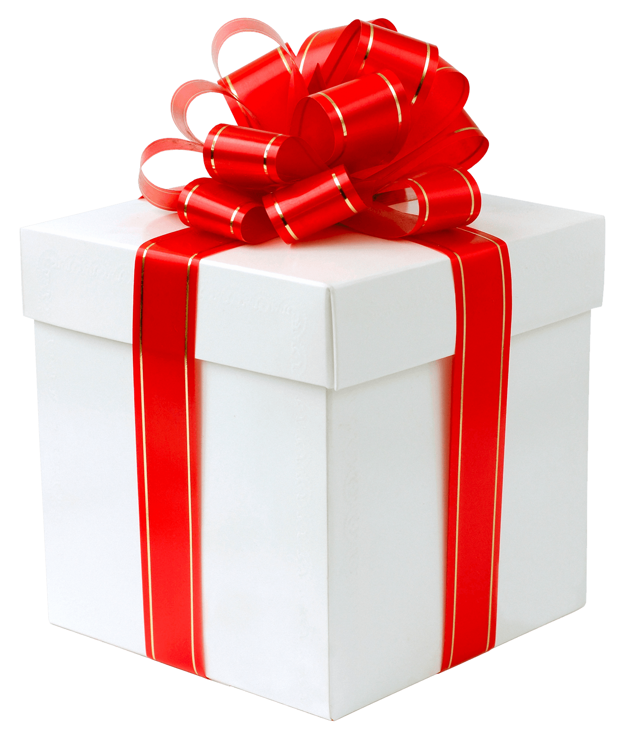 White Gift Box with Red Bow PNG Clipart - How Smart People Over 35 Are Finally