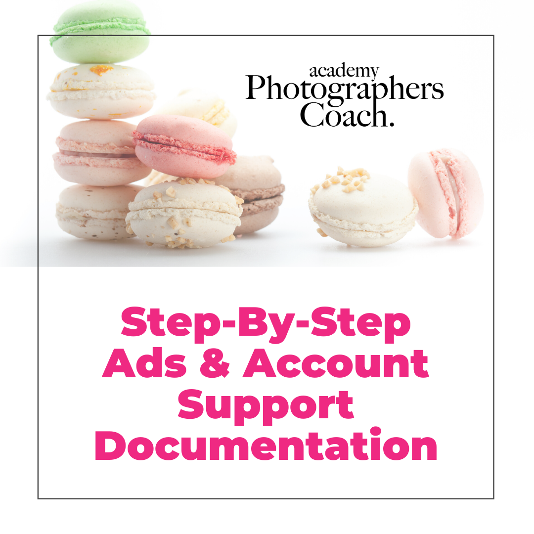 Step By Step Ads and Account Support Documentation