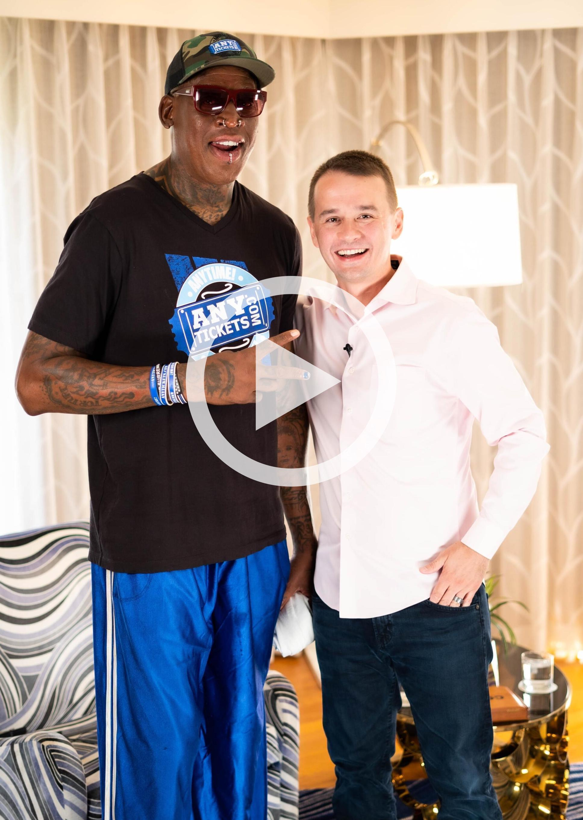 Death.  Trump.  Korea. Interview with Dennis Rodman