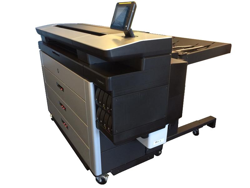 HP PageWide XL per stampa a pigmento fino 800mq/ora