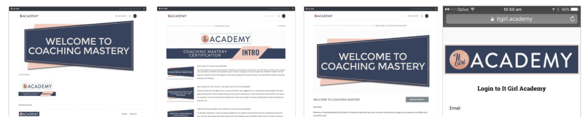 It Girl Academy Coaching Mastery Certification Modules