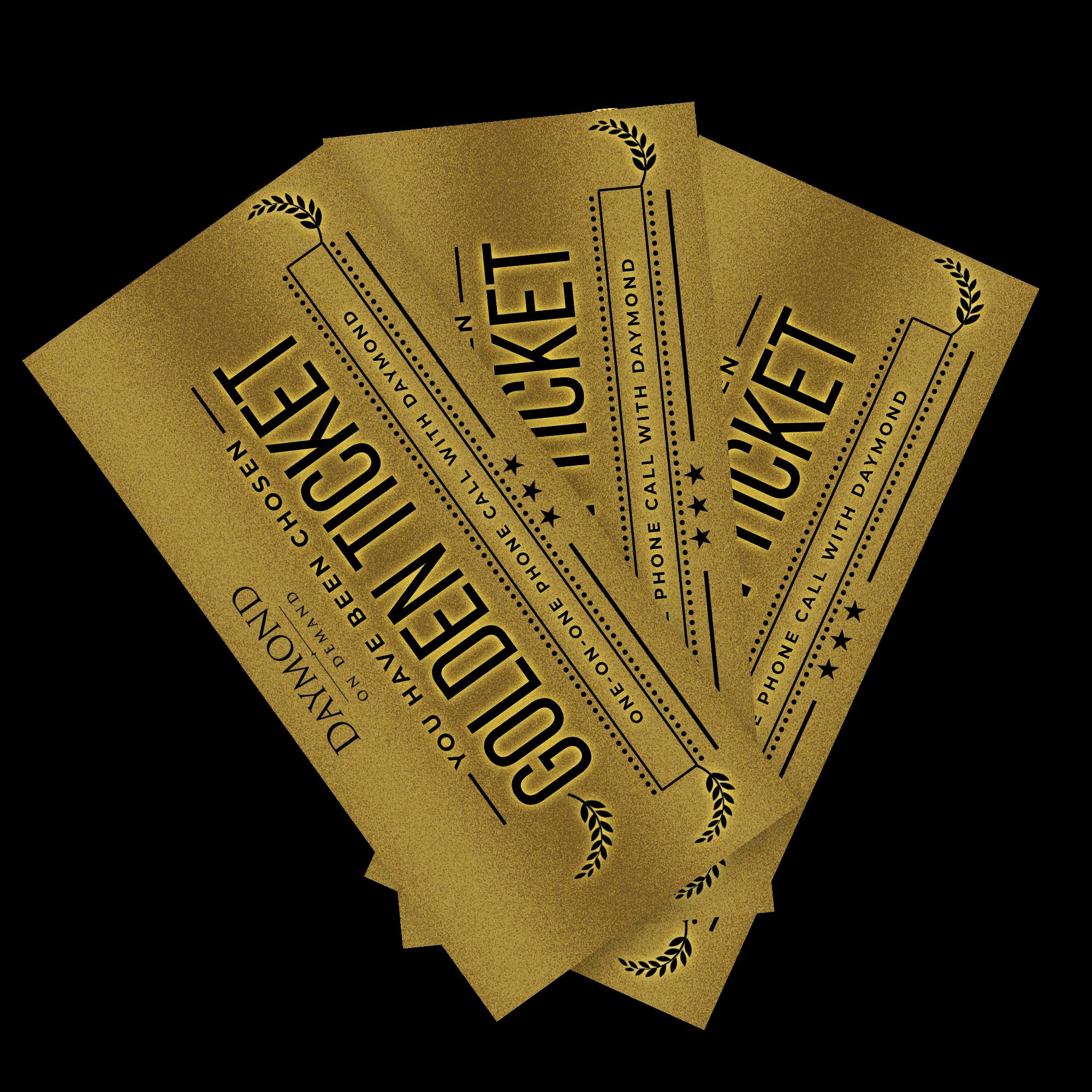 Daymond John Golden Ticket