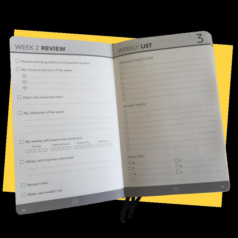 Effic Planner - Weekly Review