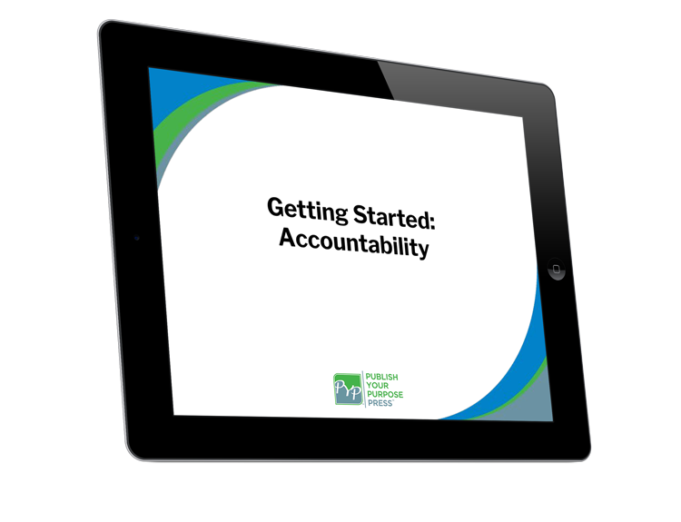 Getting Started for Authors Course: Getting Started: Accountability